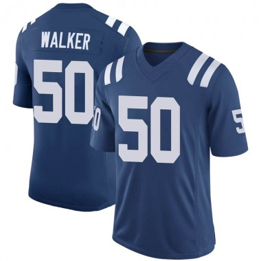Men's Nike Indianapolis Colts Anthony Walker 100th Vapor Jersey - Royal Limited