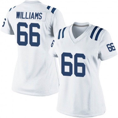 Women's Nike Indianapolis Colts Chris Williams Jersey - White Game