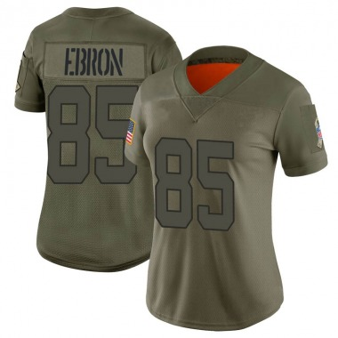 Women's Nike Indianapolis Colts Eric Ebron 2019 Salute to Service Jersey - Camo Limited