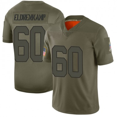 Youth Nike Indianapolis Colts Jake Eldrenkamp 2019 Salute to Service Jersey - Camo Limited