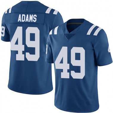 Youth Nike Indianapolis Colts Matthew Adams Team Color Vapor Untouchable Jersey - Royal Limited