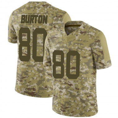 Youth Nike Indianapolis Colts Trey Burton 2018 Salute to Service Jersey - Camo Limited